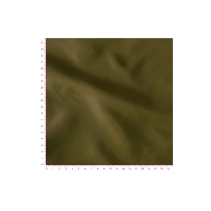Doublure en pongé - Kaki