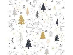 Tissu popeline de coton Xmas - Katia Fabrics