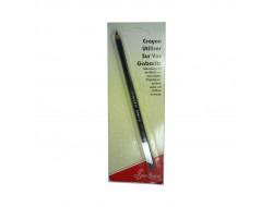crayon pour écriture sur gabarits patchwork