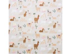 Tissu coton Alpagas, The Alpaca Collection - Rico Design
