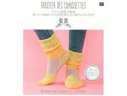 Livre Tricoter des chaussettes - Laines Rico