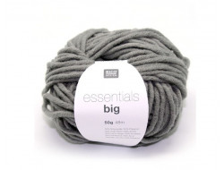 Laine Essentials Big Rico 50 gr 50% Laine vierge 50 Acrylique