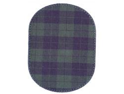 Renforts pour coudes ou genoux fantaisies - écossais vert