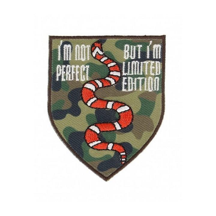 Ecusson serpent thermocollant