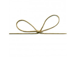 Petit cordon métal doré - 0,5 mm