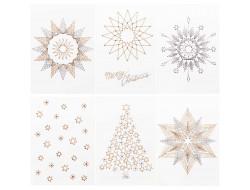 Cartes de vœux à broder - Rico Design