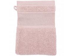 Gant de toilette rose pâle - Rico