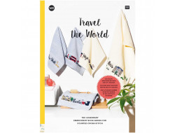 165 - Livre point de croix Travel the World, RICO Design