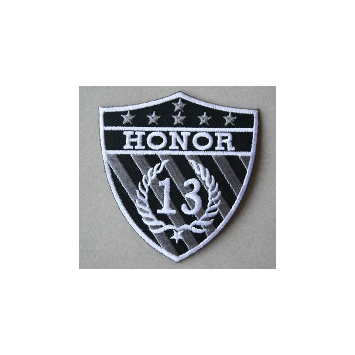 Ecusson thermocollant Honor 13