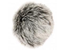Pompon fausse fourrure - 13 cm