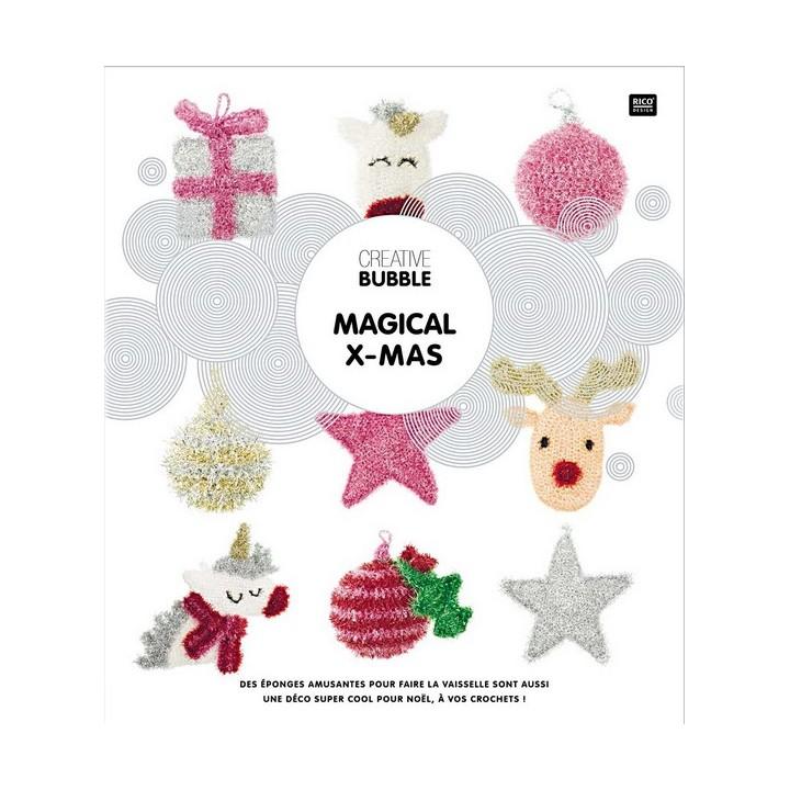 Livre creative Bubble MAGICAL X-MAS - Rico