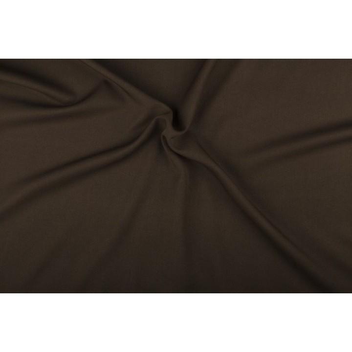 Tissu Gabardine marron