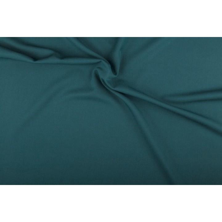 Tissu Gabardine vert canard