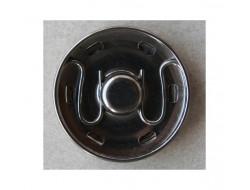 Bouton pression métal 30 mm