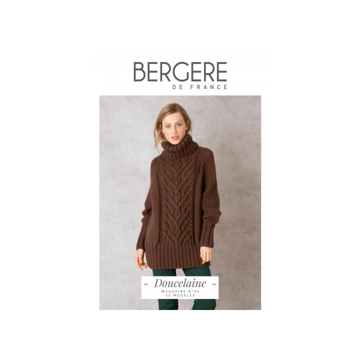 """Magazine. n°25 """"Doucelaine"""" - Bergère de France"""