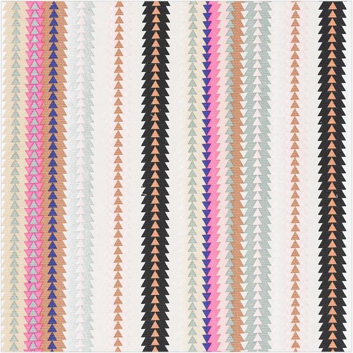 Tissu canva ethnique multicouleur - Rico Design