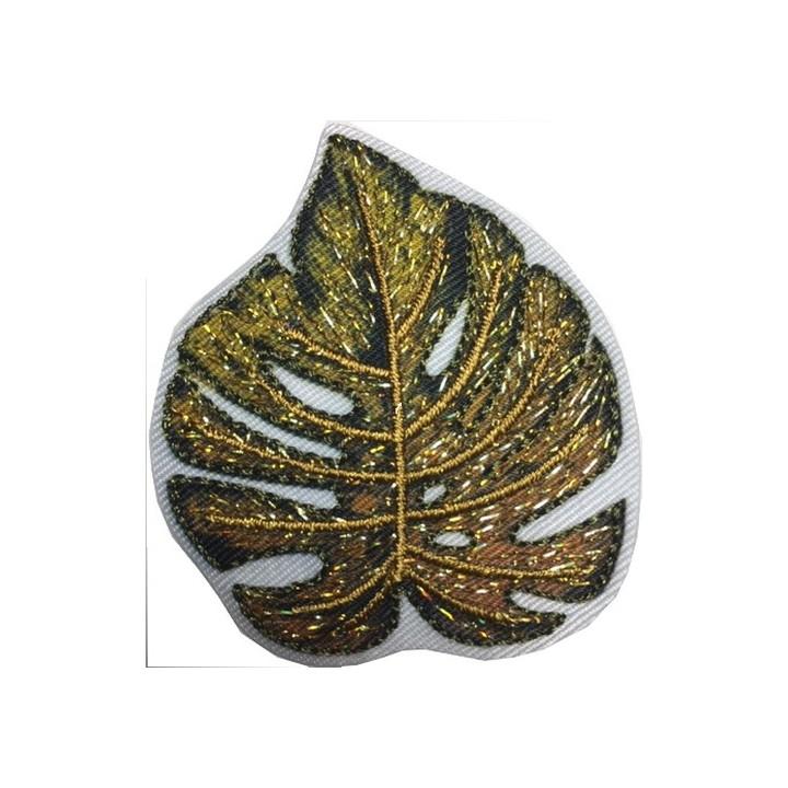 écusson feuille de palmier