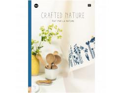 166 - Livre point de croix Fait par la nature, RICO Design