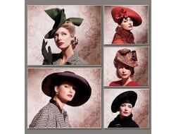 Patron de chapeaux Vintage - Vogue