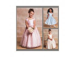 Robe de bal pour fille - Vogue 7681
