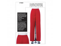 Pantalon Claire Shaeffer's - Vogue V7881