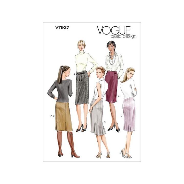 Patron jupes - Vogue
