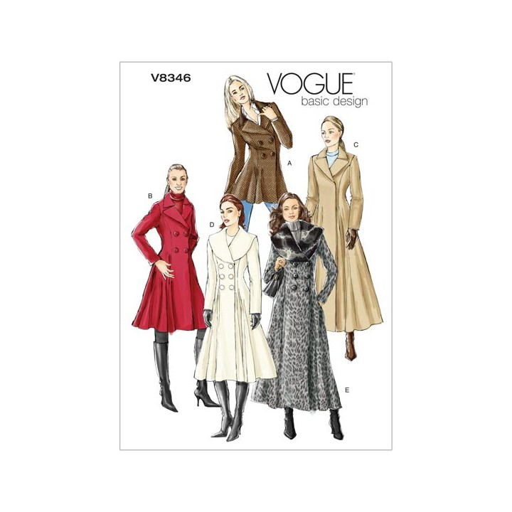 Patron de manteaux - Vogue