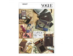 Patron sac, étui à lunettes, housse journal - Vogue