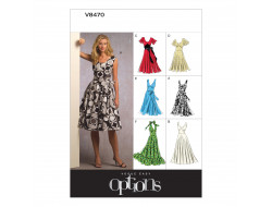 Patron de robe - Vogue V8470