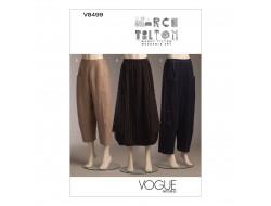 Patron de jupe et pantalon - Vogue