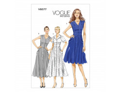 Patron de robe - Vogue V8577