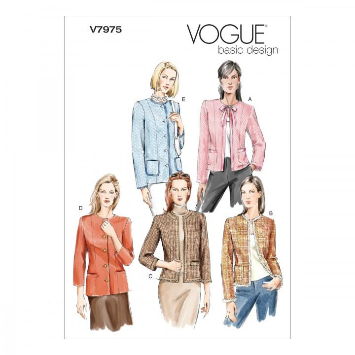 patron vestes - Vogue