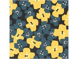 Tissu imprimé Fleurs - Rico Design