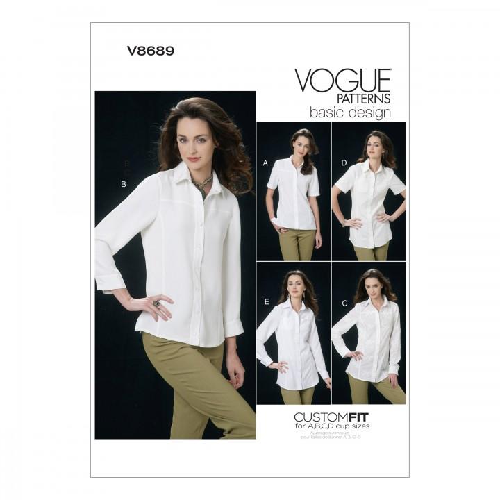 Patron de chemisier - Vogue