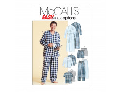 Patron pyjama, robe de chambre Homme McCall's 4244