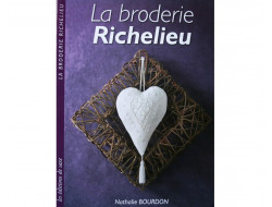 Livre sur La broderie Richelieu