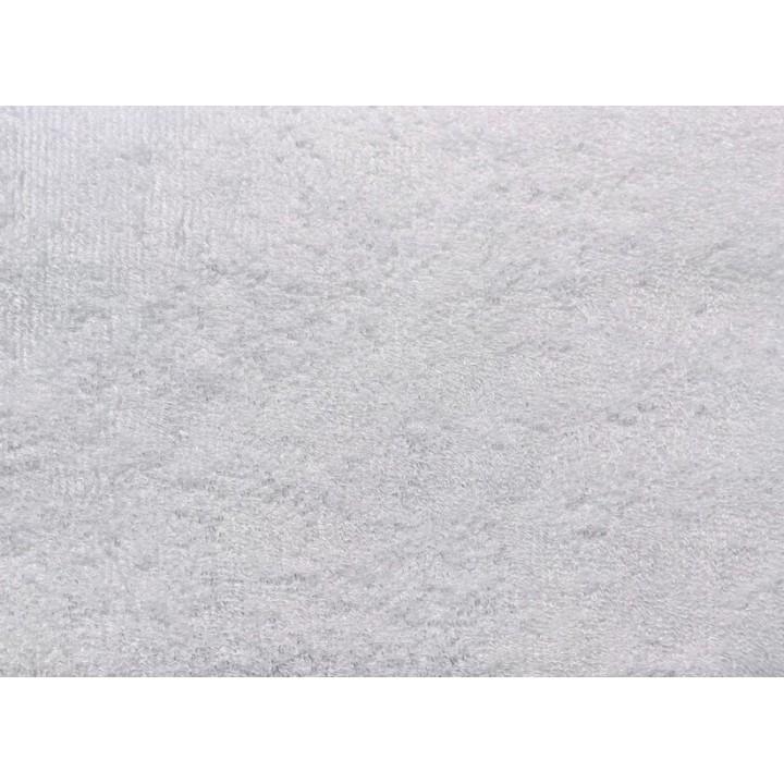 Tissu éponge bamboo bio blanc