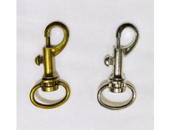 Mousqueton métal - 52 mm