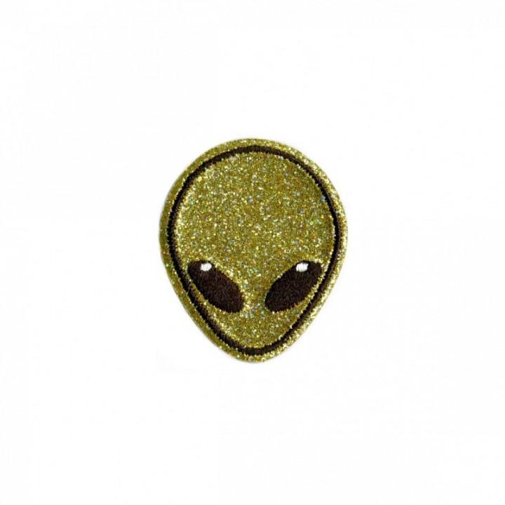 Écusson thermocollant - Alien or