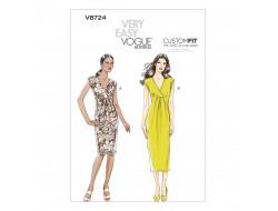 Patron de robe - Vogue 8724