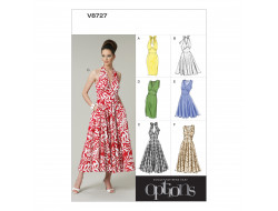 Patron de robe - Vogue 8727