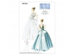 Patron de robe vintage - Vogue 8729