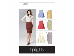 Patron de jupe - Vogue 8750