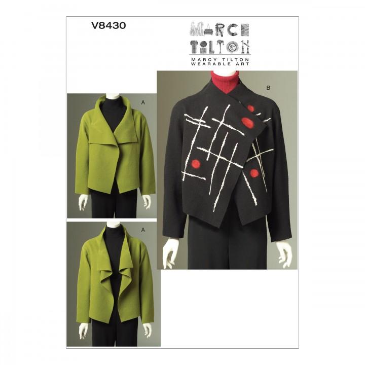 Patron veste - Vogue V8430