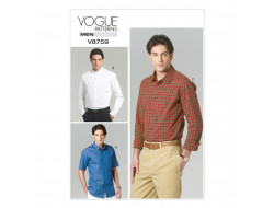 Patron de chemise - Vogue 8759