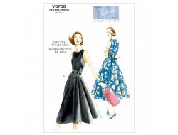 Patron de robe Vintage - Vogue 8788