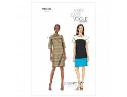 Patron de robe - Vogue 8805