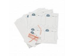 Cartes en carton pour fils à broder