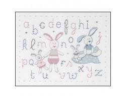 Kit abécédaire lapins - DMC