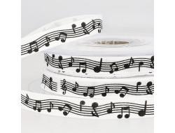 Ruban notes de musique